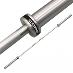 COREZONE 7ft Olympic Barbell (1500lbs Rated)