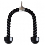 COREZONE Weight Training Tricep Rope - Pull Down Cable